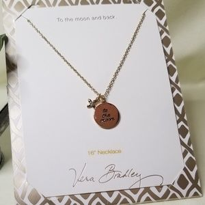 Vera Bradley To the Moon Necklace